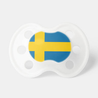 Sveriges Flagga - Flagge von Schweden - Schnuller