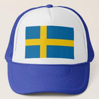 Sveriges Flagga - Flagge von Schweden - Truckerkappe