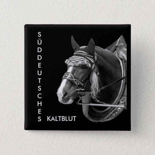 sw3526, SÜDDEUTSCHES, KALTBLUT Quadratischer Button 5,1 Cm