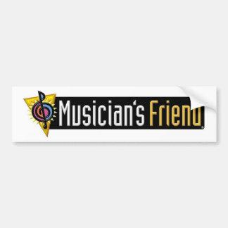 Swag des Musikers der Freund Autoaufkleber