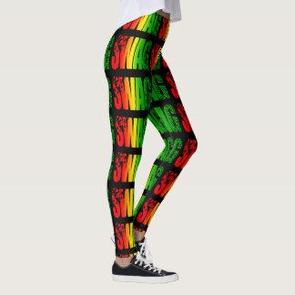 Swag-Gamaschen Leggings