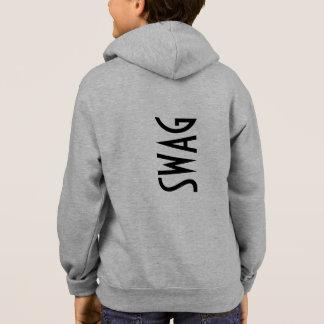 SWAG Jungen-Ziphoodie-Jacke Hoodie