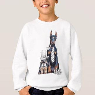 Swag-lustige Party-Hundeart-Gläser Sweatshirt