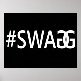 #SWAG/SWAGG lustig, Trendy, cooles Internet-Zitat Poster