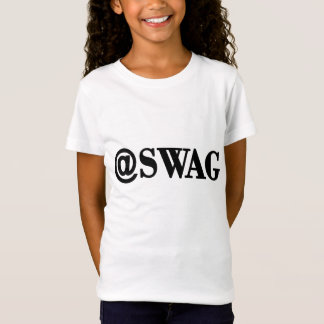 @SWAG/SWAGG lustiges Trendy Zitat, cooles T-Shirt