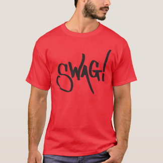 Swag-Umbau - Schwarzes T-Shirt