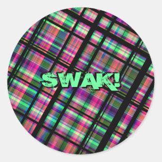 SWAK! Aufkleber-Set Runder Aufkleber