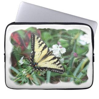 Swallotail Schmetterling Laptop Sleeve