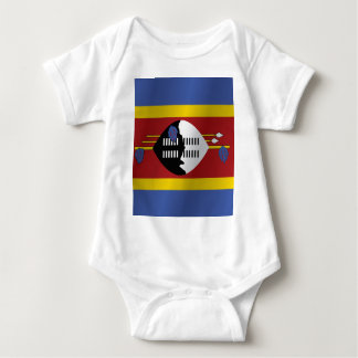 Swasiland-Flagge Baby Strampler
