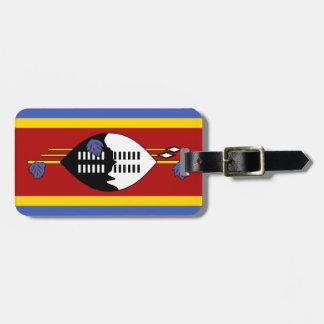 Swasiland-Flagge Kofferanhänger