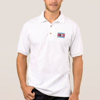 Swasiland-Flagge Polo Shirt