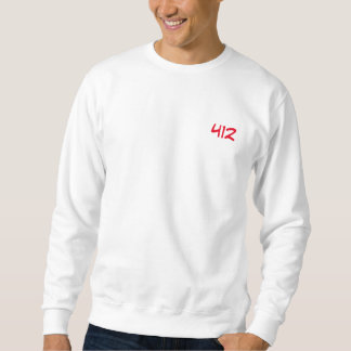 "Sweat weißes ""412 "" sweatshirt"