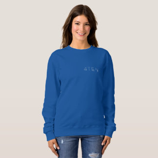 Sweatshirt der Frauen 4TEN dunkle Farb