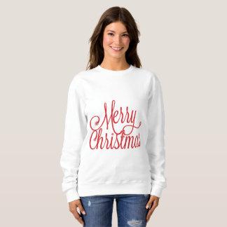 Sweatshirt der frohen Weihnachten