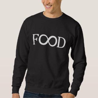 Sweatshirt der Unendlichkeits-Nahrung(weiße