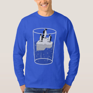 Sweatshirt des Bechers des Wassers mit Eis