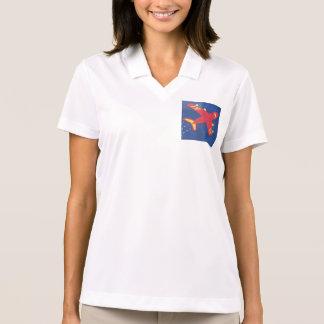 Sweatshirt-Flugzeugflugzeuge der Frauen Polo Shirt
