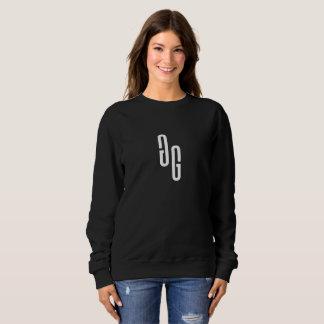 Sweatshirt GG Crewneck im Schwarzen