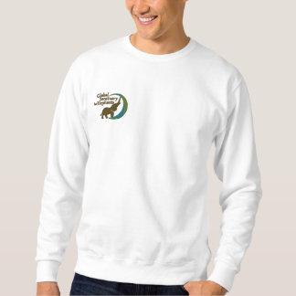 Sweatshirt im Weiß