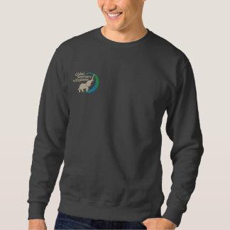 Sweatshirt in dunkelgrauem