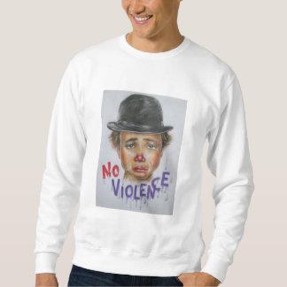 """sweatshirt Mann """"nicht violence """""""