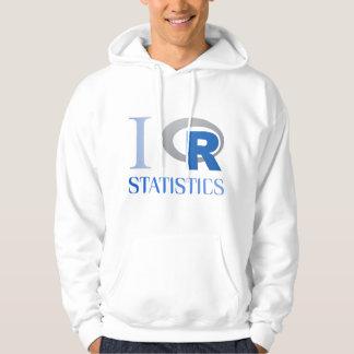 Sweatshirt mit Kapuze von I love R Statistics