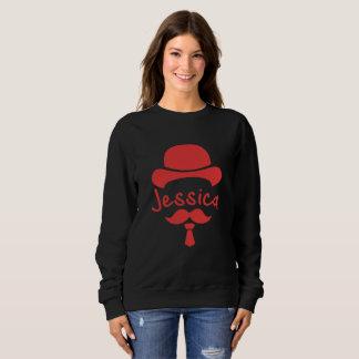 Sweatshirt schwarz- Noir-Rouge Jessica Ciel My