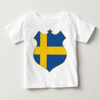 Sweden-shield.png Baby T-shirt