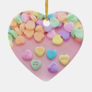 Sweetie-Valentinsgruß-Entwurf Keramik Ornament