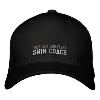 Swim-Zug, der bestste Hut der Welt Bestickte Kappen