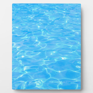 Swimmingpool Fotoplatte
