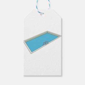 Swimmingpool Geschenkanhänger