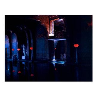 Swimmingpool im Licht - Version 2 Postkarte