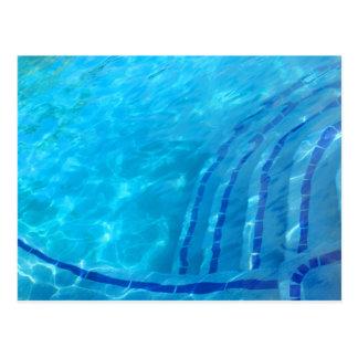 Swimmingpool Postkarte
