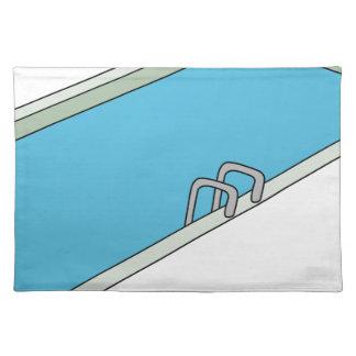 Swimmingpool Tischset