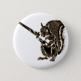 Switchy das Eichhörnchen Runder Button 5,1 Cm