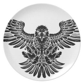 Swooping Eagle Melaminteller