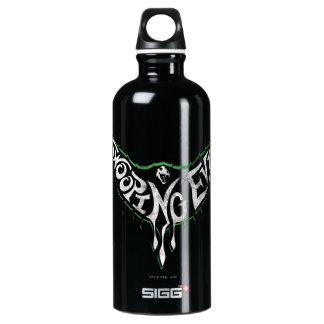 Swooping schlechte Geschöpf-Grafik Wasserflasche