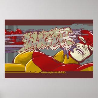 Swosh, Graffiti Comic Poster