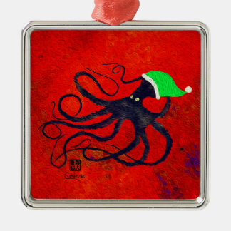 Sybilles Weihnachten Octo - erstklassige Silbernes Ornament