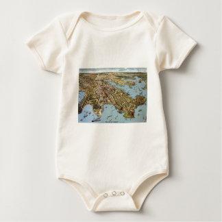 Sydney 1888 baby strampler