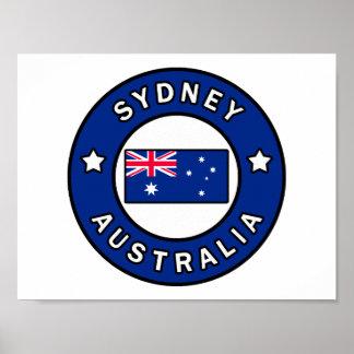 Sydney Australien Poster
