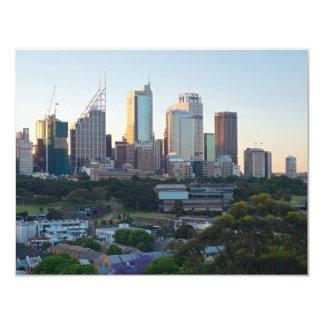 Sydney-Geschäftszentrum-Wolkenkratzer Karte