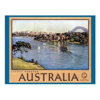 Sydney-Hafen, Australien Postkarte