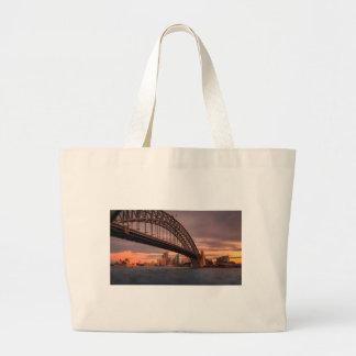 Sydney-Hafen-Brücke Jumbo Stoffbeutel