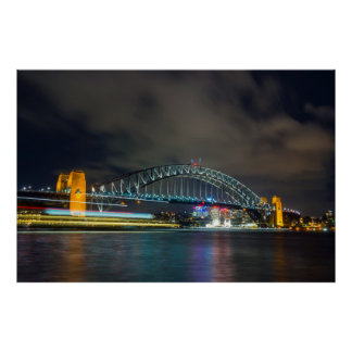 Sydney-Hafen-Brücke Poster