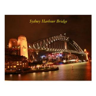 Sydney-Hafen-Brücke Postkarte