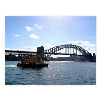 Sydney-Hafen-Brücken-Australien-Postkarte Postkarte