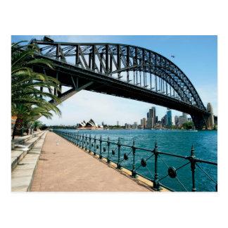 Sydney-Hafenbrücke Postkarte