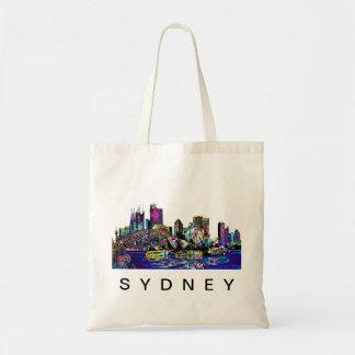 Sydney in den Graffiti Tragetasche
